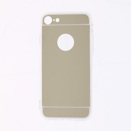 Husa iPhone 7 | 8 | SE (2020) Silicon Mirror Gold