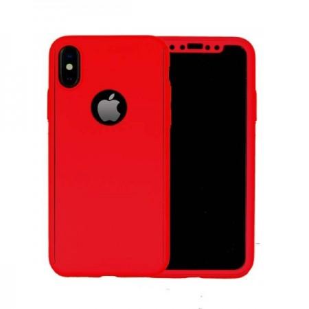 Husa iPhone XS Max 360° Rosie Premium Ultra Slim Cu Folie de Sticla