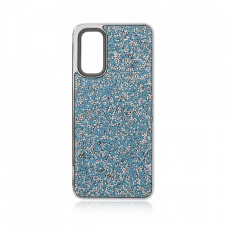 Husa pentru Samsung Galaxy S20 PLUS - Husa Luxury Glitter Diamond Turcoaz