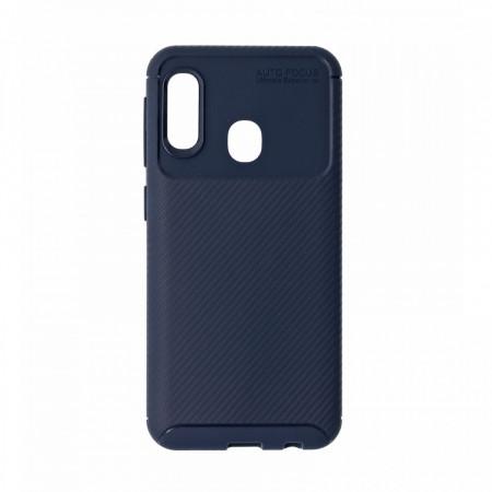 Husa Samsung Galaxy A20E flexibila din silicon, albastru A20E-M1-V1