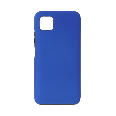 Husa Samsung Galaxy A51 - 360 Fully cu Spate din Policarbonat si Folie din Silicon - Blue