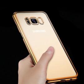 Husa Samsung Galaxy S8 Clear View Electroplacata