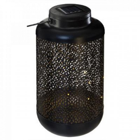 Felinar solar metalic , negru PM1642013