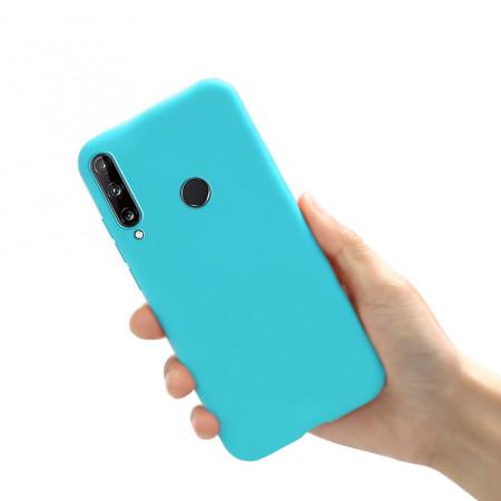 Husa Huawei P40 LITE E | Y7p - Soft Jelly Silicon - Sky Blue