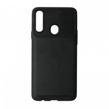 Husa Samsung Galaxy A20S flexibila din silicon, negru A20S-M1-V1