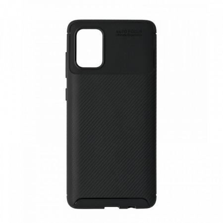 Husa Samsung Galaxy A71 flexibila din silicon, negru A71-M1-V1