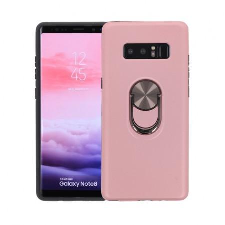 Husa Samsung Galaxy Note 8 Rose Din Policarbonat Premium cu Inel Rotativ