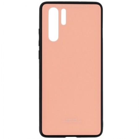 Husa Huawei P30 PRO Glass Case Roz