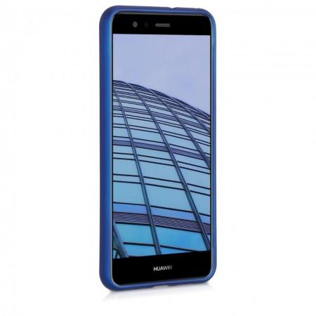 Husa Huawei P9 LITE Din Silicon Albastra Premium
