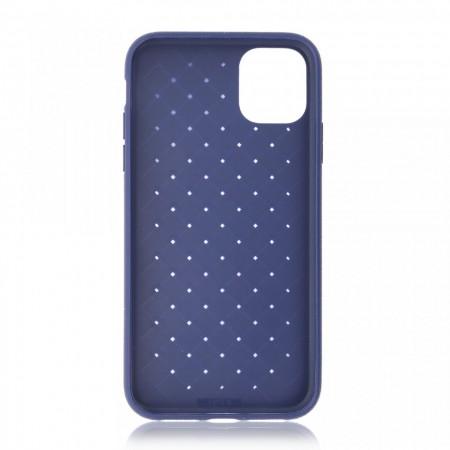 Husa iPhone 11 Albastra Flexibila din Silicon