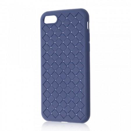 Husa iPhone 7   8   SE (2020) Albastra Flexibila din Silicon