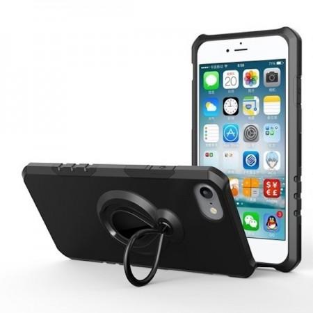 Husa iPhone 7 sau 8 Neagra Tough Armor Black