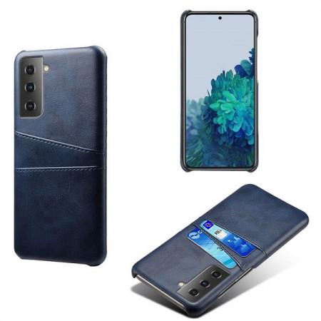 Husa Samsung Galaxy S21 PLUS 5G, Dual Card Slots, albastru, S21PLUS 5G-002