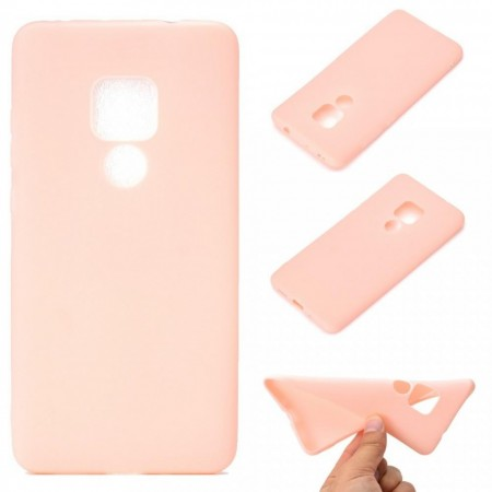Husa Huawei Mate 20 Roz din Silicon Premium Ultra Soft