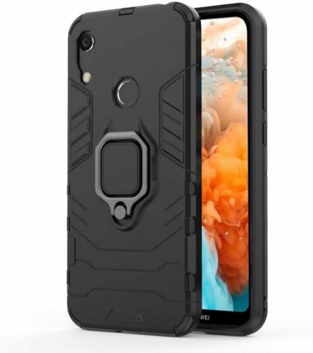 Husa Huawei Y6 | Y6 PRO (2019) Neagra Military cu Inel