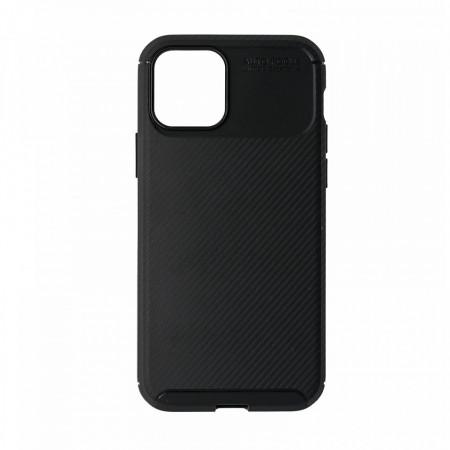 Husa IPhone 12/12 Pro flexibila din silicon, negru IP12-M1-V1