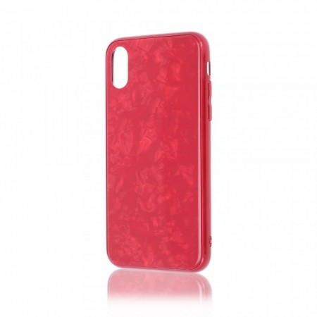 Husa iPhone XR High Pro Shield Glass Red