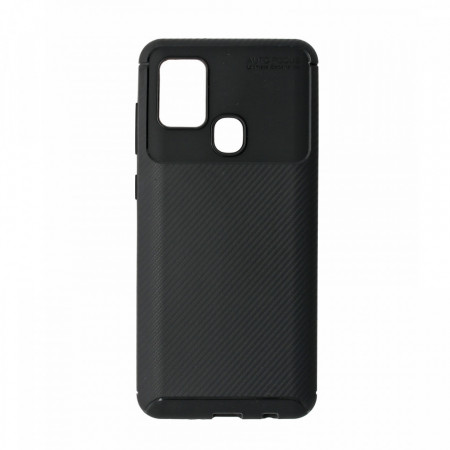 Husa Samsung Galaxy A21S flexibila din silicon, negru A21S-M1-V1