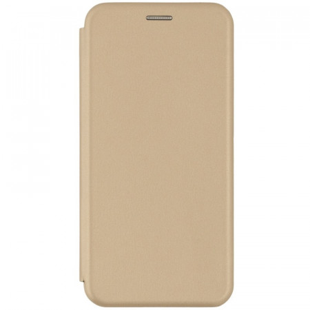 Husa Samsung Galaxy A71 Flip Magnet Book Type Gold