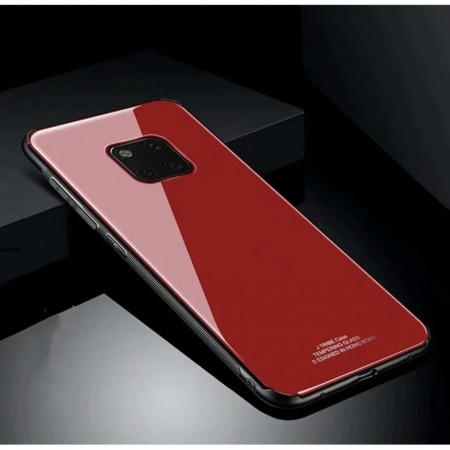 Husa Huawei Mate 20 PRO Glass Case Rosie