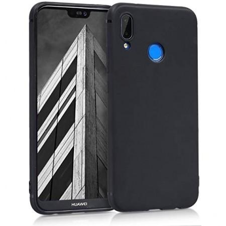 Husa Huawei P20 LITE Neagra Din Silicon Premium Soft