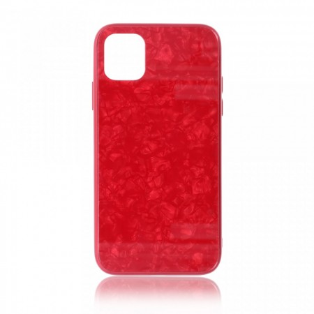 Husa iPhone 11 Pro Max High Pro Shield Glass Red