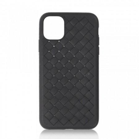 Husa iPhone 11 Pro Max Neagra Flexibila din Silicon