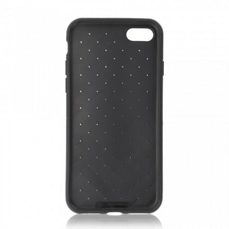 Husa iPhone 7   8   SE (2020) Neagra Flexibila din Silicon