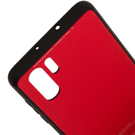 Husa Huawei P30 PRO Glass Case Rosie