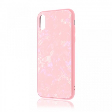 Husa iPhone XS Max High Pro Glass Shield Pink