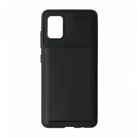 Husa Samsung Galaxy A51 flexibila din silicon, negru A51-M1-V1