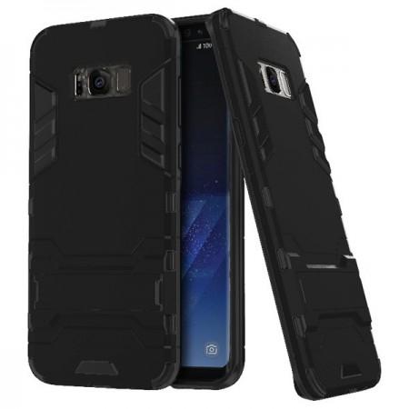 Husa Samsung Galaxy S8 Neagra Cu Piciorus Tough Armor