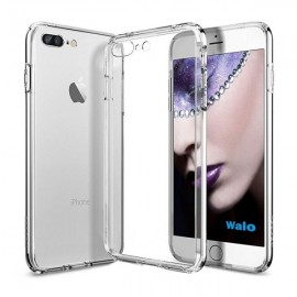 Poze iPhone 7-8 PLUS - Husa Silicon Transparenta Ultra Thin