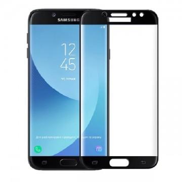 Folie Samsung A5 (2017) Folie Curbata Tempered Glass Black