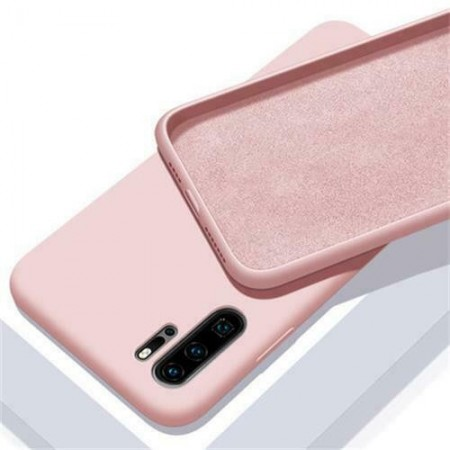 Husa Huawei Mate P30 Roz din Silicon Premium Ultra Soft