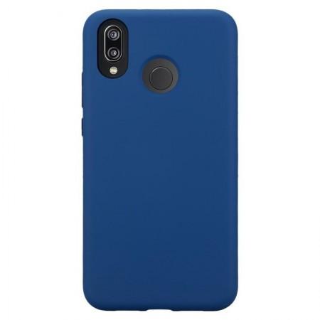 Husa Huawei P20 LITE Albastra Din Silicon Premium Soft
