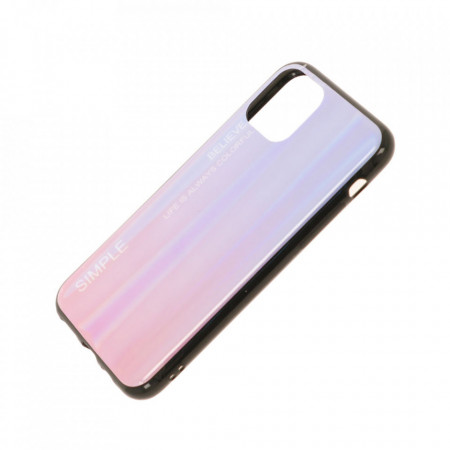 Husa iPhone 11 PRO - Husa Gradient Aurora Colorful - Pink