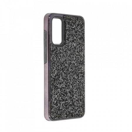 Husa pentru Samsung Galaxy S20 PLUS - Husa Luxury Glitter Diamond Black