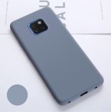 Husa Huawei Mate 20 PRO Albastra Deschis din Silicon Premium Ultra Soft