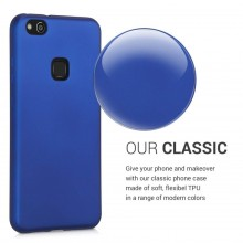 Husa Huawei P10 LITE Din Silicon Albastra Premium