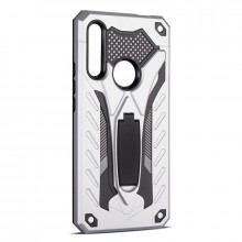 Husa Huawei P40 LITE E | Y7p - Military Defender Antisoc cu Suport Wide - Silver