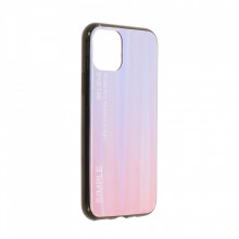 Husa iPhone 11 PRO - Husa Gradient Aurora Colorful - Pink