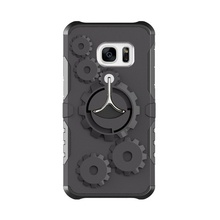 Husa Samsung Galaxy J5 PRIME Antisoc Black Gear Design Cu Suport