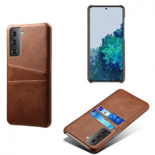 Husa Samsung Galaxy S21 FE, Dual Card Slots, maro, S21FE-005