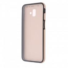 Husa Samsung Galaxy S9 PLUS - 360 Fully cu Spate din Policarbonat si Folie din Silicon - Crem
