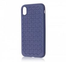 Husa iPhone XS Max Albastra Flexibila din Silicon