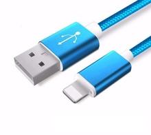 Apple Ligtning - cablu date incarcator 1m Albastru iPhone