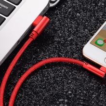 Husa Apple Ligtning Cablu De Date Si Incarcare Pentru iPhone Rosu 1m