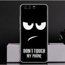 Husa Huawei P10 LITE Silicon Spate Ultrathin Black Smile