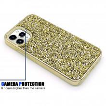 Husa iPhone 11 PRO - Husa Luxury Glitter Diamond Gold